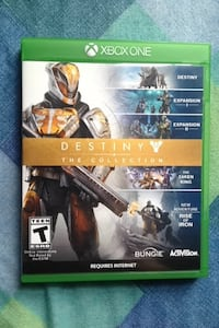 Xbox One Destiny The Collection Wallaceburg, N8A 2T7