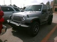 2014 Jeep Wrangler Unlimited Silver Katy, 77494