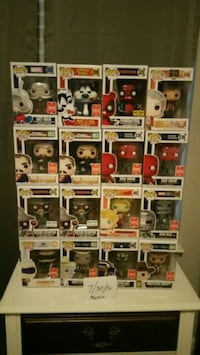 Pop ! vinyl figure collection Birmingham