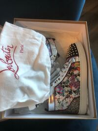 Christian Louboutin red bottom sneakers size 11