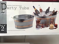 Party tubs