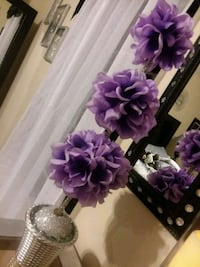 purple and white artificial flowers Weslaco, 78596
