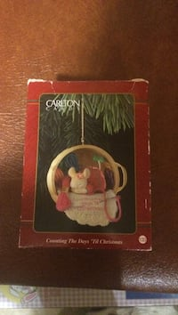 Carlton Cards Counting the days 'til Christmas box