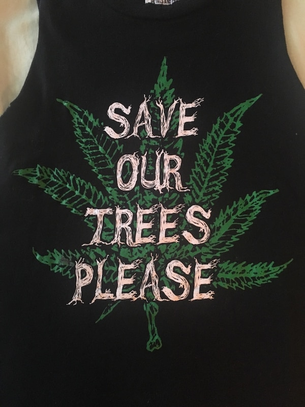 """""""Save Our Trees Please"""" XS muscle tee 2328a9d6-3282-4246-96f4-385eb5a20e15"""