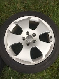 Audi Alloys 17 inch Full Set