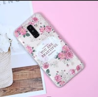 white and pink floral smartphone case Gaithersburg, 20879