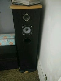 black and gray tower speaker and stereo Ogden, 84404