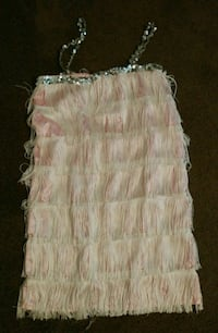 Homemade flapper dress