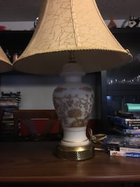 white and brown table lamp Toronto, M9R 3K7