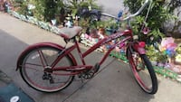 LADY'S RED BIKE BEAUTIFUL  Los Angeles, 90744