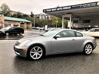 Team West Auto Group 2006 Infiniti G35 Coupe Local Dealer serviced since new clean g35 350z Coquitlam