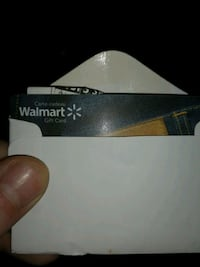Walmart gift card 50$ for 45$  St. Thomas, N5P 2C2
