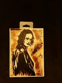 THE CROW  Eric Draven woodburning  Waynesboro, 17268
