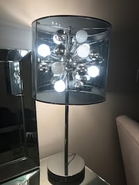 Clear plastic table lamp  North Vancouver, V7L