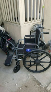 wheelchair used like new $80 firm El Monte, 91732