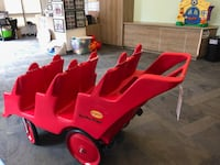 red ride-on toy car Arlington