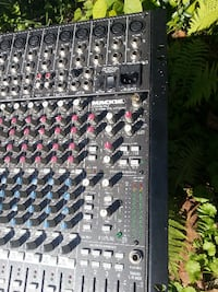 gray and black audio mixer ROCKVILLE