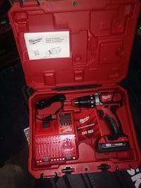 Milwaukee cordless hand drill with case Fort Washington, 20744
