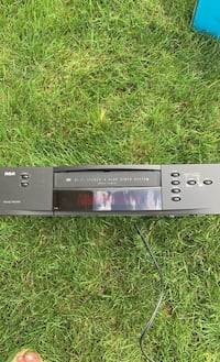RCA VCR player w remote