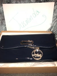 Christian louboutin clutch, dark navy blue. Brand new never taken out the box New York, 11417