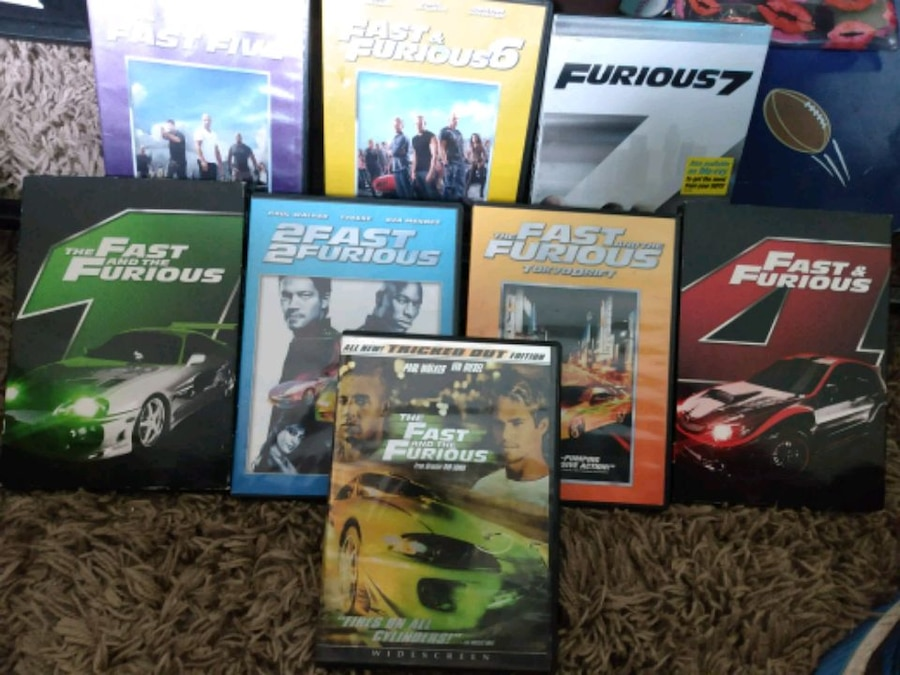 Photo Fast and the Furious DVD collection