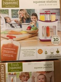 Infantino Squeeze Station +50 pack of squeeze pouches Los Angeles, 91342