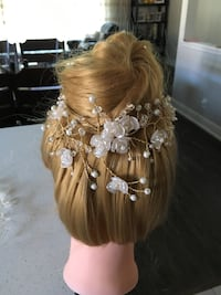 Bridal hair piece Toronto, M9R 2C7