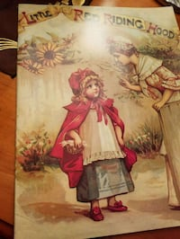 Old Little Red Riding Hood Book Lewisville