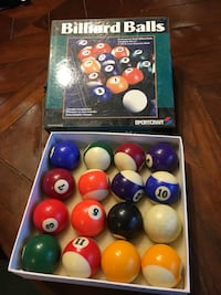 assorted color plastic balls in box DeWittville, 14728