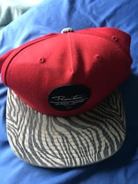 red and black fitted cap Yorba Linda, 92887