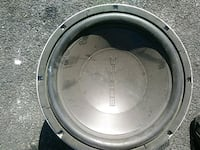 "Car Speaker Eclipse Aluminum ""14       New Rochelle, 10805"