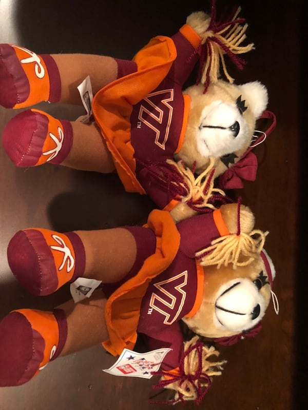 Virginia Tech Cheerleader Teddy Bears f8f66c6c-5294-4980-9d7f-558c9c58a1ff