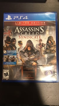 Assassin's Creed Syndicate PS4 game case New Milford, 07646