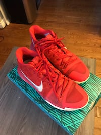 pair of red Nike low-top sneakers Oshawa, L1J 7X9