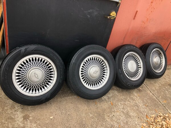 Used Rims And Tires Near Me >> Chevy Used Rims Wheel 15 Inch Factory For Car Suv Truck 5 Lug Set Of 4