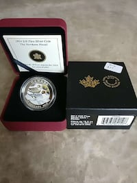 Beautiful Silver Coin The Pintail  Edmonton, T5K 1T9