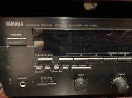 Yamaha Stereo Receiver + 3 Speakers