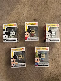 Mickey Mouse 90th anniversary Funko Pop collection Fairfax, 22033