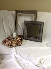 Silver finish Mirror and picture frame Port Saint Lucie, 34986