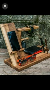 Phone dock with key ,watch and pen holders.  Anaheim, 92806