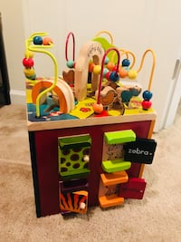 Kids learning cube (great condition) Manassas, 20111