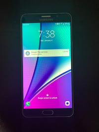 Samsung Note 5 for sale Bradford, L3Z 1R9