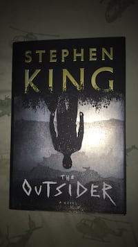 Steven kind the outsider brand new haven't even red and retails for $40 Waterloo, N2J 1H8