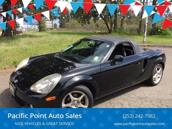2004 Toyota Mr2 Spyder Base 2dr Convertible
