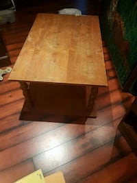 rectangular brown wooden coffee table Cambridge, N3C 4P5