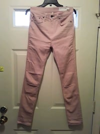Nordstrom blush pink high rise skinny jeans City of Manassas, 20109