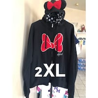 black and red Minnie Mouse print sweater Adelanto, 92301