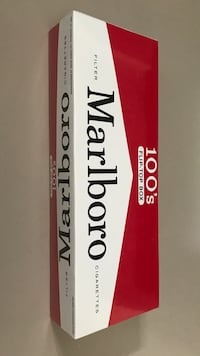 Marlboro red (100s)  - Made in USA Burnaby, V5H 0G5