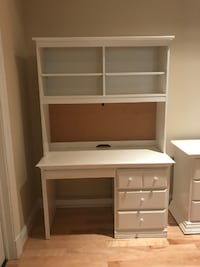 Bellini Desk - Gently Used, White, Dimensions in Description GAITHERSBURG