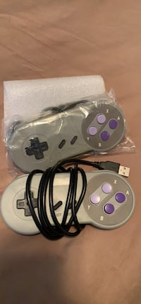 Two USB game controllers
